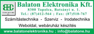 Balaton Elektronika Kft.