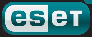 ESET vírusvédelmi rendszer gyártói logo